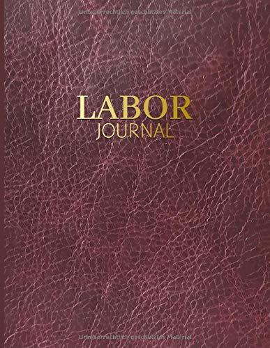 Laborjournal: Laborbuch / Labortagebuch / Labor Notizbuch für Chemiker, Physiker, Biologen, Mediziner, Laboranten, ca. A4, kariert mit Inhaltsverzeichnis, 100 Seiten, Lederoptik
