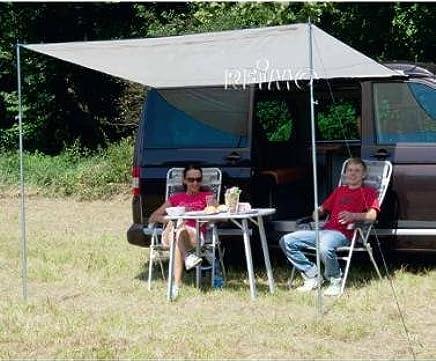 Reimo 90023 Tent Technology Sonnenvordach Como 4 grau 350x240cm