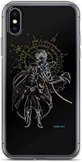 iPhone 6 Plus/6s Plus Case Anti-Scratch Japanese Comic Transparent Cases Cover Oz & Alice Anime & Manga Graphic Novels Crystal Clear