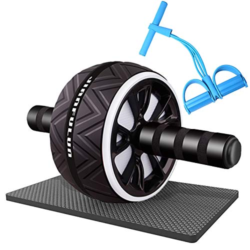 CONQLOAD Ab Roller Wheel&Pedal Resistance Band Equipment Sets,for Men Women Exercise Gym in Home