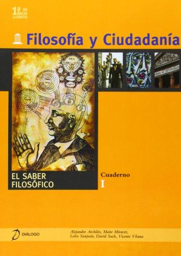 Filosofía y ciudadanía. I. El saber Filosofíco - 9788496976177