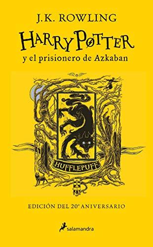 Harry Potter y el prisionero de Azkaban (edición Hufflepuff del 20º aniversario) (Harry Potter 3)