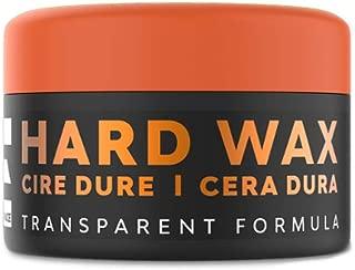 Elegance Hair Styling Wax with Argan Oil - Alcohol-Free, Paraben-Free, Hard Transparent Formula, 100 ml