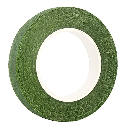 "DECORA 1/2"" Wide Dark Green Floral Tapes for Bouquet Stem"