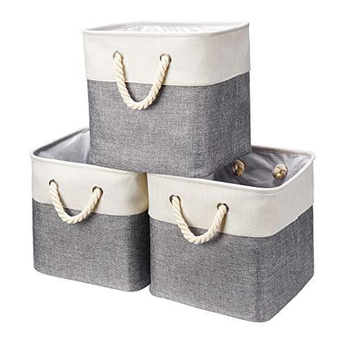 cesta gris de la marca Robuy