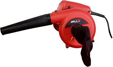 iBELL Air Blower 600W, Copper Rotor, RPM 14000, Blow Rate 3.3M/Min with Vacuum dust Collecting Bag, Professional Quality,V...