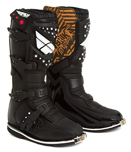 Fly Racing Motocross-Stiefel Maverik Schwarz Gr. 46