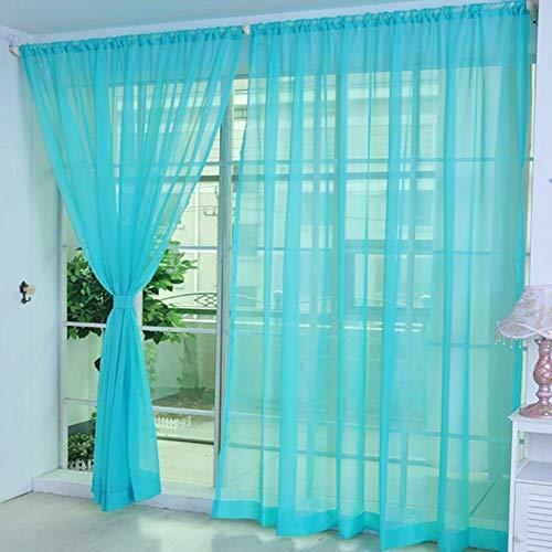 DealMux Stores cortina cortina cortinas blancas para ventanas para vivir cortina de red tejida cortina sólida cortinas...