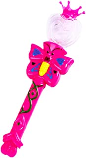 Anniston Kids Toys, Cartoon Butterfly LED Luminous Stick Magic Projection Wand Kids Toy Party Props Classic Toys Perfect F...