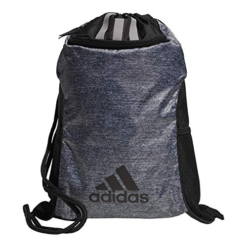 adidas Unisex Team Issue II Sackpack, Onix Jersey/Black, ONE SIZE