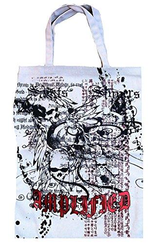 Amplified Dark Spirit - Bolsa para la compra, color blanco