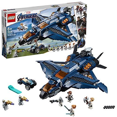 レゴ(LEGO) スーパー・ヒーローズ  アベンジャーズ・アルティメット・クインジェット 76126 ブロック おも...