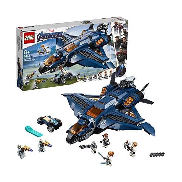 LEGO Super Eroi Avengers Quinjet