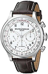 Baume & Mercier Men's BMMOA10041 Capeland Analog Display Mechanical Hand Wind Brown Watch image