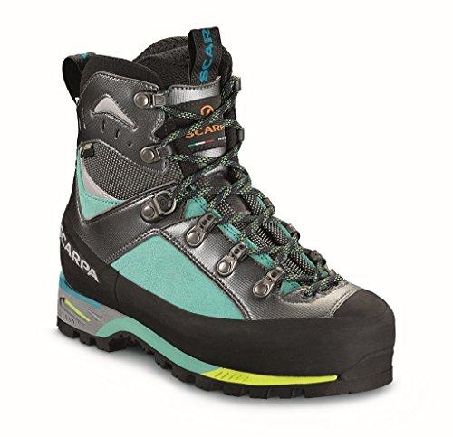 Scarpa Triolet GTX WMN, des Bottes de randonnée Femme, Green Blue, 41 EU