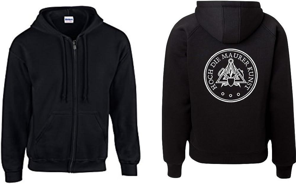 Textilhandel Hering Jacke HOCH DIE Maurer Kunst Zunftwappen Logo