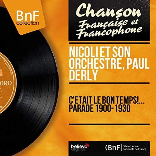 Nicoli et son orchestre, Paul Derly