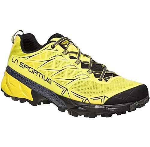 La Sportiva Akyra, Zapatillas de Trail Running Hombre, Amarillo (Butter 000), 40 EU