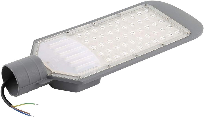 50W IP65 wasserdichte Auen-LED-Straenleuchte, 6500K 4500 LM 50 LEDs SMD 2835 LED-Flutlicht, AC 85-265V Sonnenlicht
