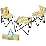 丸和貿易 マミーフィールド テーブル&チェアーセット  ドット 400836502