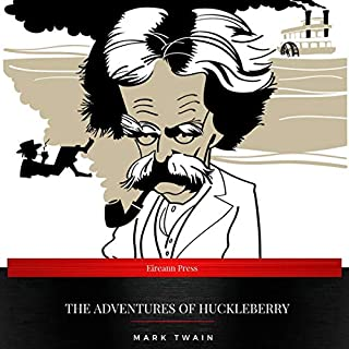 The Adventures of Huckleberry audiobook cover art