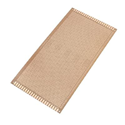 130x250mm Single Side Copper Coated Printed Circuit Board Stripboard
