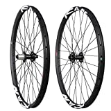 ICAN 29er All Mountain Bike Carbon Wheelset Clincher Tubeless Ready Rim Front 100x15mm Rear 142x12mm Thru Axle