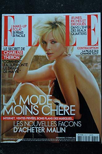 ELLE 3139 27 FEVRIER 2006 COVER CHARLIZE THERON JEAN-LOUIS AUBERT