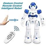 NEWYANG Robot de Juguete - Juguete Educativo electrónico Recargable...