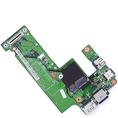 Eastern Computers Placa de puerto de carga para Dell Inspiron 15R M5010 N5010 Puerto DC y placa LAN Ethernet USB Jack Board de repuesto 48.4HH02.011 Laptop Parts