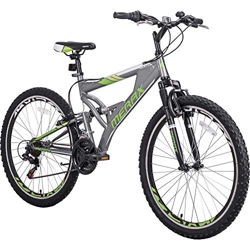 "Merax 26"" Aluminum Mountain Bike 21 Speed Bicycle"