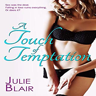 A Touch of Temptation audiobook cover art