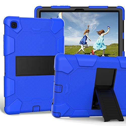 ZERMU – Capa para Galaxy Tab A7 de 10,4 polegadas 2020, de três camadas, com suporte resistente, à prova de impactos, capa protetora híbrida de policarbonato e silicone resistente a impactos para Samsung Galaxy Tab A7 de 10,4 polegadas (SM-T500/T505/T507)