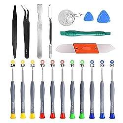 cheap Magnetic screwdriver set, 21 pieces, GangZhi Bao repair tool set for repair …
