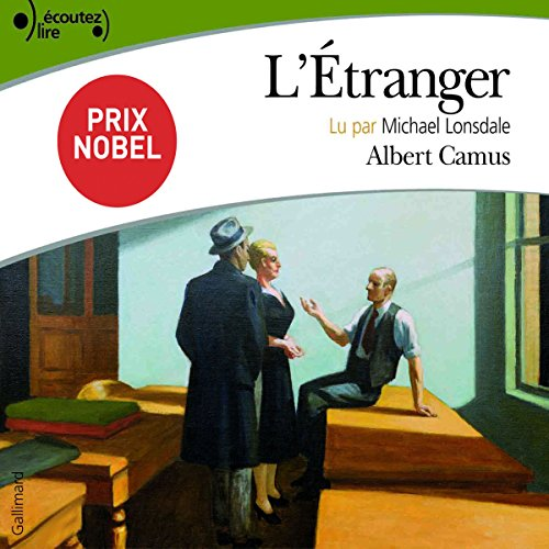 L'Étranger audiobook cover art