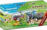 PLAYMOBIL Country 70367 - Tractor de Carga con Tanque de Agua, a Partir de 4 años