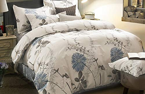 Our #6 Pick is the Wake In Cloud - Floral Comforter Set