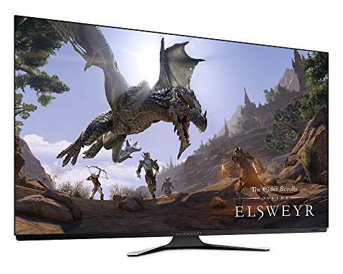 "New AW 55 Inches OLED Gaming Monitor: AW5520QF, World's First 55"" OLED Gaming Monitor. Featuring 4K Resolution 3840 x 2160 at 120Hz True-to-Life Colors, Low Input Latency and Legendry Design"
