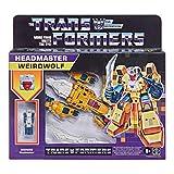 Transformers 2021 Modern Figure in Retro Packaging Decepticon Headmaster Weirdwolf with Monxo
