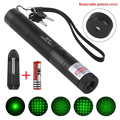 Apical Life Green Light Pointer, High Powerful Beam with Adjustable Focus for Camping Hunting Hiking Outdoor Activity