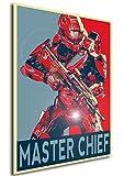 Instabuy Poster - Propaganda - Halo - Master Chief A3 42x30