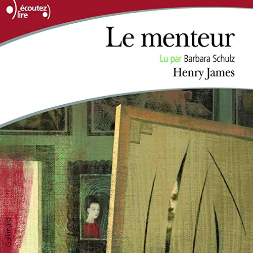 Le menteur audiobook cover art