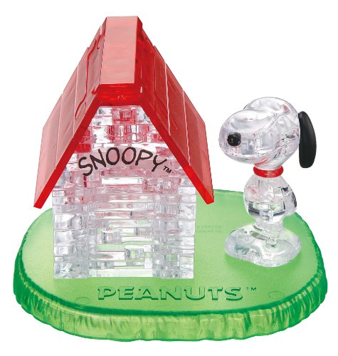 Crystal puzzle Snoopy House (japan import)