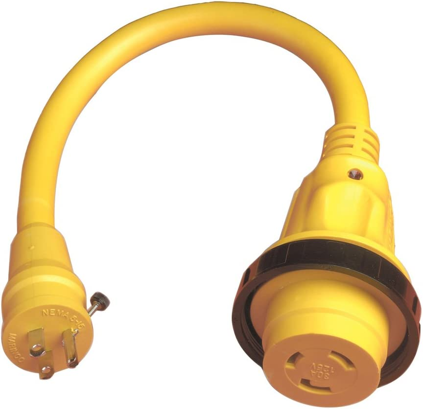 MARINCO 104SPP Marinco Pigtail Adapter Plus Cash special Max 53% OFF price 30A To 15A Locking