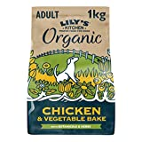 Lily's Kitchen Organic Chicken & Vegetable Bake Complete Adult Dry Dog Food 1 kg