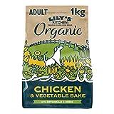 Lily's Kitchen Croquettes Bio Naturelles et Complètes pour Chien - Poulet & Légumes (1kg)