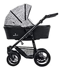 The luxurious Prestige edition Venicci travel system combines versatility, elegance and contemporary European style.The 2 in 1 carrycot and stroller travel system features leatherette detail throughout the carrycot, stroller seat and accessories. All...