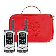 Motorola Talkabout T280 Rechargeable Two-Way Radio Bundle – White