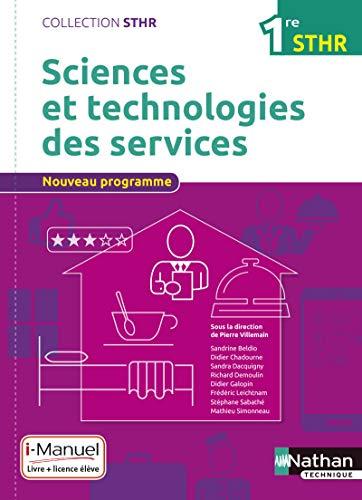 Sciences et technologies des services 1re STHR