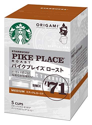 ネスレ日本 スターバックス オリガミ パーソナルドリップ コーヒー パイクプレイス ロースト (9g×5袋)×6箱入